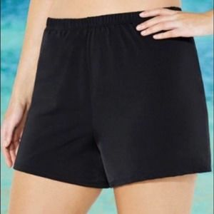 Swimsuits for all Loose Swim Short 12 Black